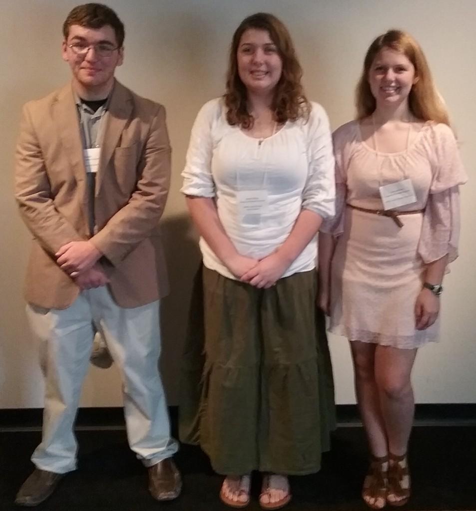 L-R: Isaac Fowler, Sonali Albus, and Sierra Albus